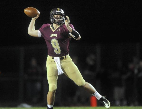 Whitehall's QB Nick Shafnisky