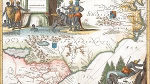 Rare map collector explores evolving idea of Virginia