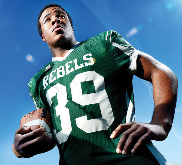 South Hagerstown running back Isiaha Smith is The Herald-Mail's Washington County Football Offensive Player of the Year for 2012.