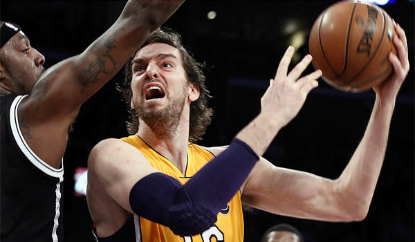 Pau Gasol is out for 6-8 weeks with a torn plantar fascia in his right foot.