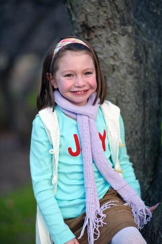 Olivia Engel, 6, is pictured last month in a photo provided by her family. She was one of the first-graders killed Friday at Sandy Hook Elementary School.