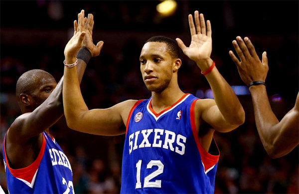 Evan Turner is averaging 15.4 points per game and shooting 47.5% from three this season.