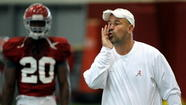 TALLAHASSEE -- For a head coach who has four assistant spots to fill, Florida State's Jimbo Fisher has been a man of few worries this weekend. According to him, his search for a defensive coordinator, a defensive ends coach, a running backs coach and/or special teams coordinator and linebackers coach is right where it needs to be.