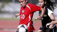 Photo Gallery: Flintridge Sacred Heart Academy girls' soccer vs. Valencia High