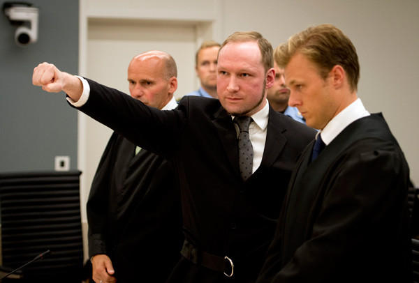 Year in Review: News of 2012: On August 24, Norwegian judges sentenced Anders Breivik to 10 to 21 years in prison for his bomb and shooting rampage that killed 77 people and injured hundreds in Norway last year. 21 years is the maximum penalty any criminal can receive in Norway.