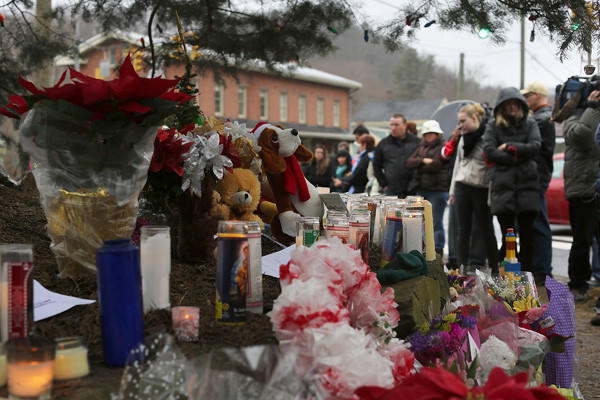 Year in Review: News of 2012: On Dec. 14, a 20-year-old gunman shot and killed his mother at their home and then entered an elementary school in Newtown, Conn. gunning down over two dozen people, including 20 children. The gunman was also found dead, bringing the death toll to 28.