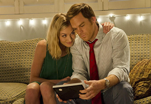 'Dexter' Season 7: Best & worst: Hannah gives Dexter a picture of the happy couple. Now he has something to look at while shes in jail.