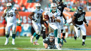 MIAMI GARDENS — What you really saw Sunday at Sun Life Stadium, what played out as Ryan Tannehill looked good against a bad Jacksonville defense, went beyond how he grew better as the game grew longer.