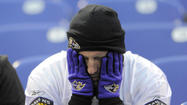 Whitney Collins' head hung low Sunday as he walked down South Charles Street in Federal Hill in his purple Ed Reed jersey. He had abandoned his pricey seat at M&T Bank Stadium more than 10 minutes before the Ravens game had ended to numb the pain of a lopsided loss in a nearby vodka bar.
