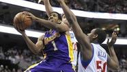 Photos: Lakers at Sixers