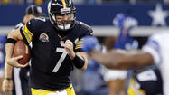 ARLINGTON, Texas (AP) — Tony Romo has the surging Dallas Cowboys tied for first place in the NFC East.