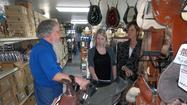 Mark Brenneman at Mark's Harness Shop