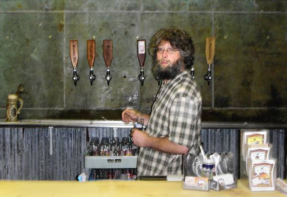 Ben Millstein of Kodiak Island Brewing Company in Kodiak, Alaska