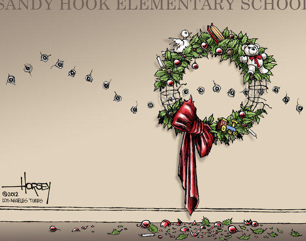 Shooting of Newtown's children steals innocent joys of Christmas