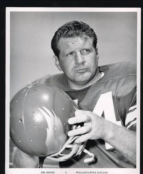 Jim Ringo, a graduate of Phillipsburg High School, is a former member of the Green Bay Packers and Philadelphia Eagles. He is in the Pro Football Hall of Fame.