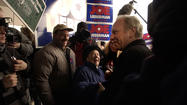 Lieberman Campaigns In New Hampshire