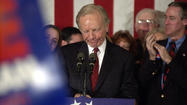 Lieberman Speaks In New Hampshire
