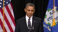 President Obama speaks to Newtown at interfaith vigil