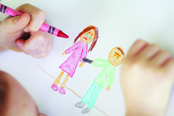 One of several suggestions from Charlevoix-Emmet Intermediate School District psychologist Steve Spencer suggests is to have your child draw a picture to help process their feelings.