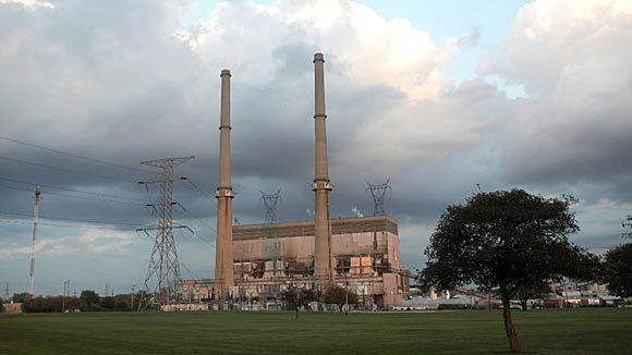 The Midwest Generation coal plant in Joliet photographed in September 2012.
