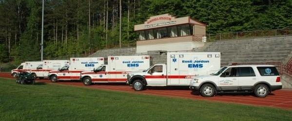 East Jordan's seven emergency response vehicles range in age from six to almost 20 years old.