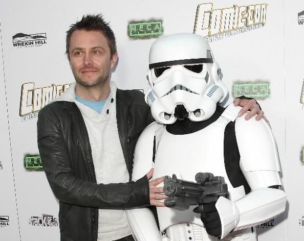 "Chris Hardwick attends the Premiere of Morgan Spurlock's ""Comic-Con Episode IV: A Fan's Hope"" at the ArcLight Cinemas Hollywood on April 4, 2012 in Hollywood, Calif."