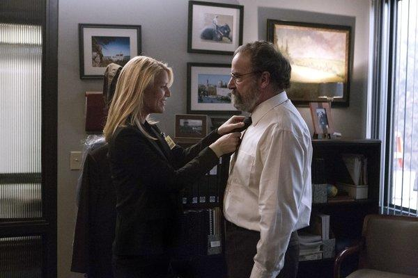"Claire Danes and Mandy Patinkin ain ""Homeland."""