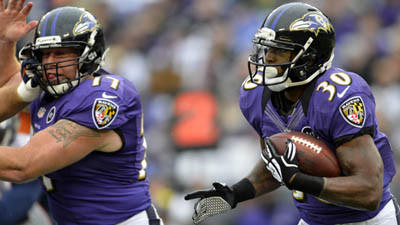 Ravens would win AFC North with victory over Giants Sunday