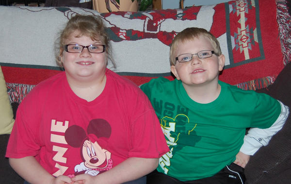 Vanessa Jennings, 11, and Jacob Jennings, 7, of Danville are two of the first-known cases of Duplication Chromosome 14q32.33, a rare genetic disease that causes various health issues for the two.