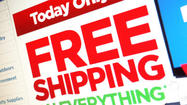 Still have Christmas shopping to do? Today is your day to go online. It's Free Shipping Day,and more than 1,600 merchants are participating.