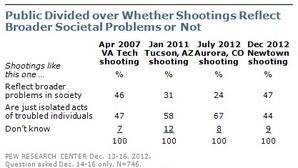 Poll: Public Divided On Significance Of Newtown Shootings