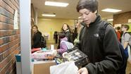 First Toys for Tots drive at Ridgely Middle School exceeds goals