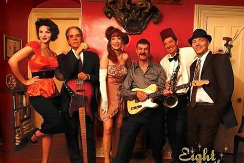 Eight To The Bar performs a holiday show at the Palace Theater in Stafford Springs, Friday, Dec. 21.