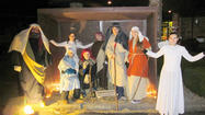 Calvary United Methodist Church in Windber presented a live nativity scene