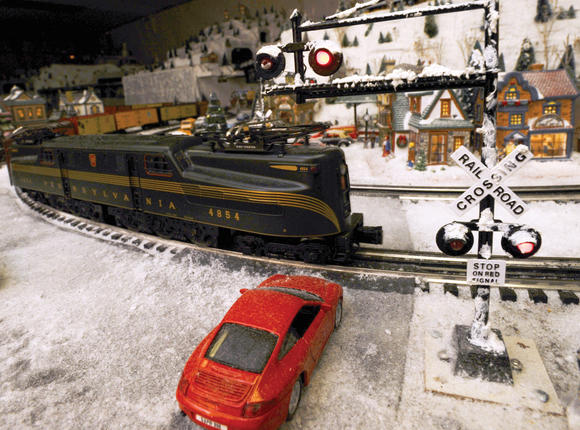 Trains of Christmas