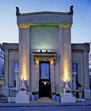 "If neoclassical architecture makes your heart shout ""Hallelujah!,"" this former Episcopal church may bring you to your knees in Glasgow, Scotland's largest city. Malmaison converted the 1830s church in the early 1990s."