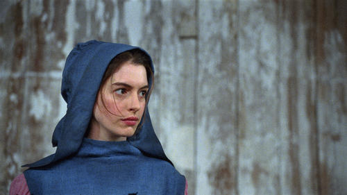 "ANNE HATHAWAY as Fantine in ""Les Misérables"", the motion-picture adaptation of the beloved global stage sensation seen by more than 60 million people in 42 countries and in 21 languages around the globe and still breaking box-office records everywhere in its 28th year.  Copyright: © 2012 Universal Studios."