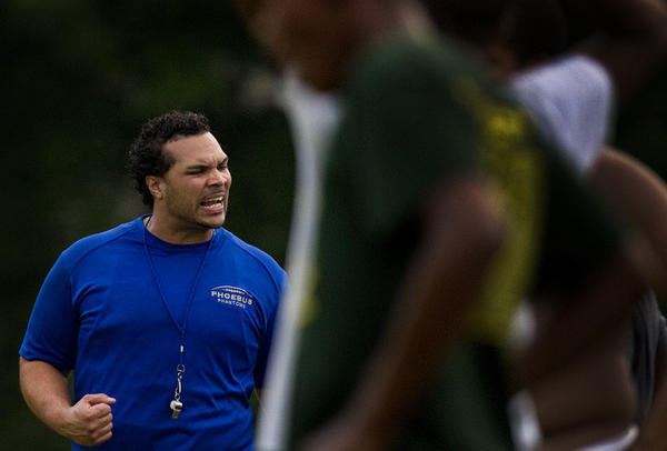 Phoebus High School announces the naming of their new head coach for football, Jeremy Blunt, some of the old photos taken of wile he played for Phoebus.