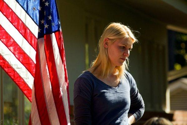"Claire Danes as Carrie Mathison in Showtime's ""Homeland."""
