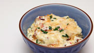Tailgating recipe: Onion, Gruyere and Bacon Dip