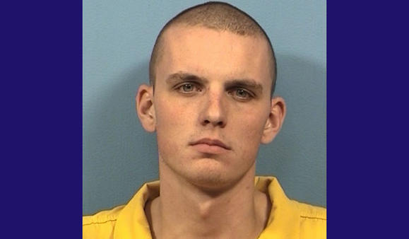 Adam Belmont, 22. DuPage County state's attorney's photo