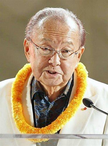 Notable deaths from 2012: Democratic Senator Daniel Inouye, one of the longest- serving members of Congress, died on Monday, December 17, Senate Leader Harry Reid said on the chambers floor.