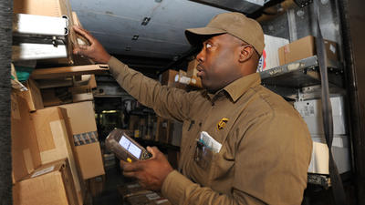 UPS holiday rush is fueled by technology with local roots