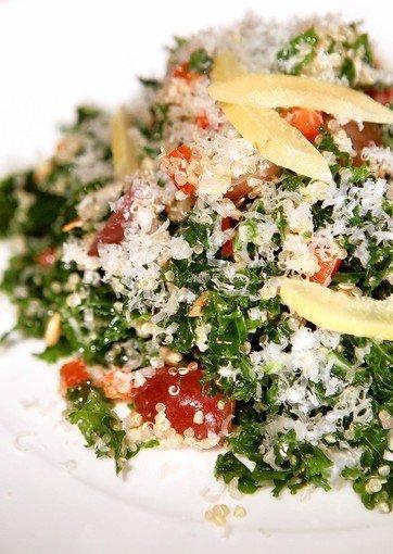 Kale-and-quinoa salad