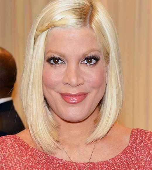 Celebs turning 40 in 2013: Neil Patrick Harris, Tyra Banks, James Marsden and more: Tori Spelling, May 16