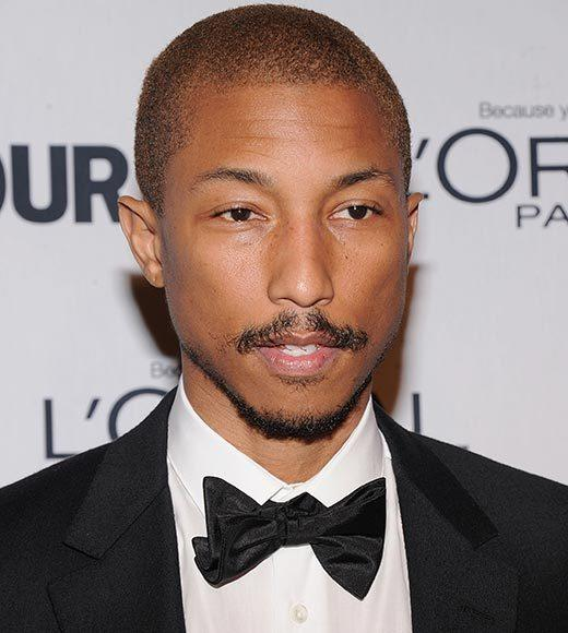 Celebs turning 40 in 2013: Neil Patrick Harris, Tyra Banks, James Marsden and more: Pharrell Williams, Apr. 5