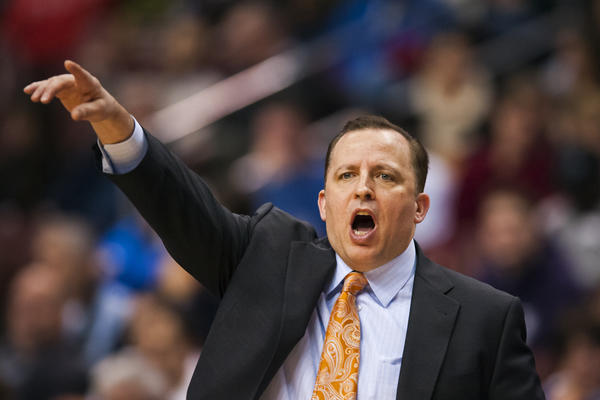 "Tom Thibodeau says the Bulls ""can't rely on one or two guys"" to do all the rebounding."