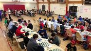 More than a hundred chess players, ranging in age from kindergarten to 12th graders, faced off at the American Chess Academy Holiday Championship Sunday at the Maple Community Center in Glendale.