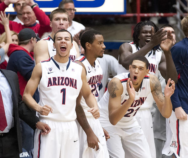 Arizona's victory over Florida was its first over a top-five team since the 2008-09 season.