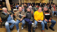 Several hundred former Sparrows Point workers gathering late Monday afternoon for details of their steel mill's demise heard from union leaders that at least two groups had wanted to restart the plant but weren't given the chance.
